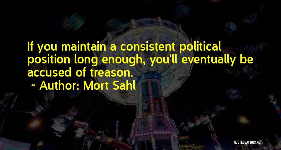 Mort Sahl Quotes 485090
