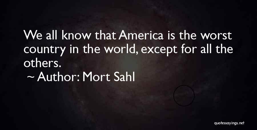 Mort Sahl Quotes 578285