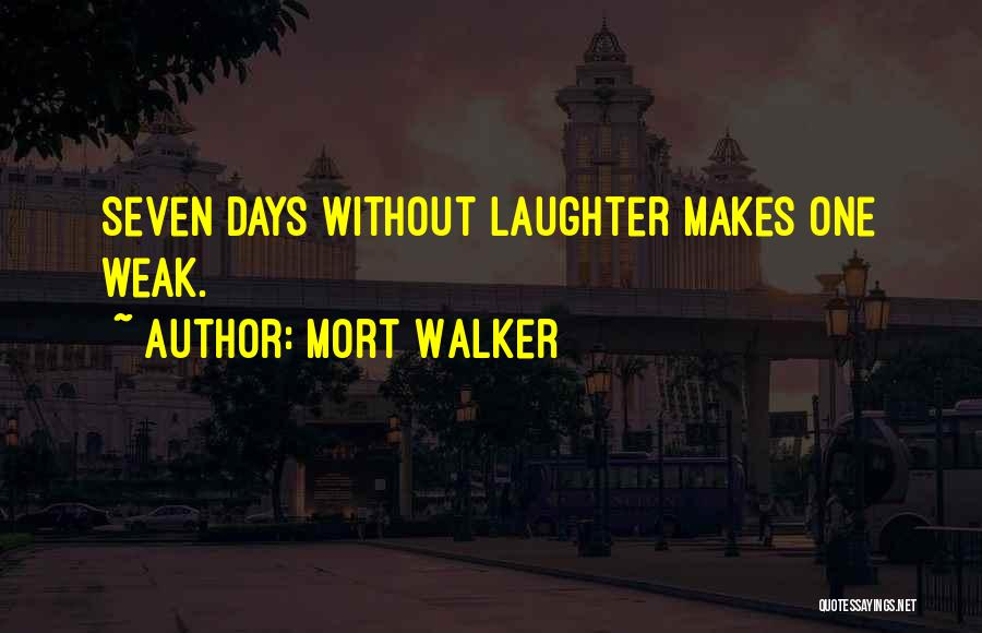 Mort Walker Quotes 1453110