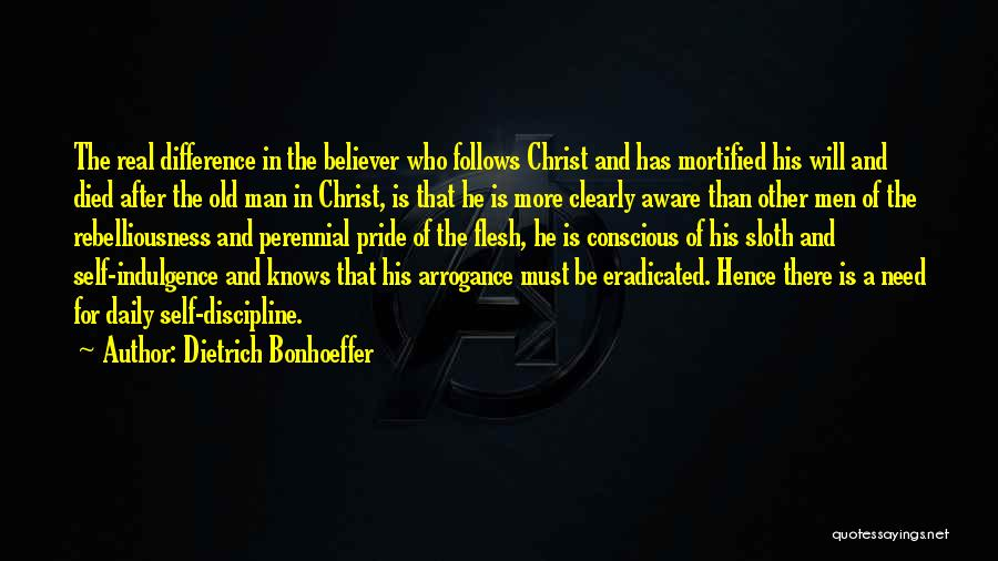 Mortified Quotes By Dietrich Bonhoeffer