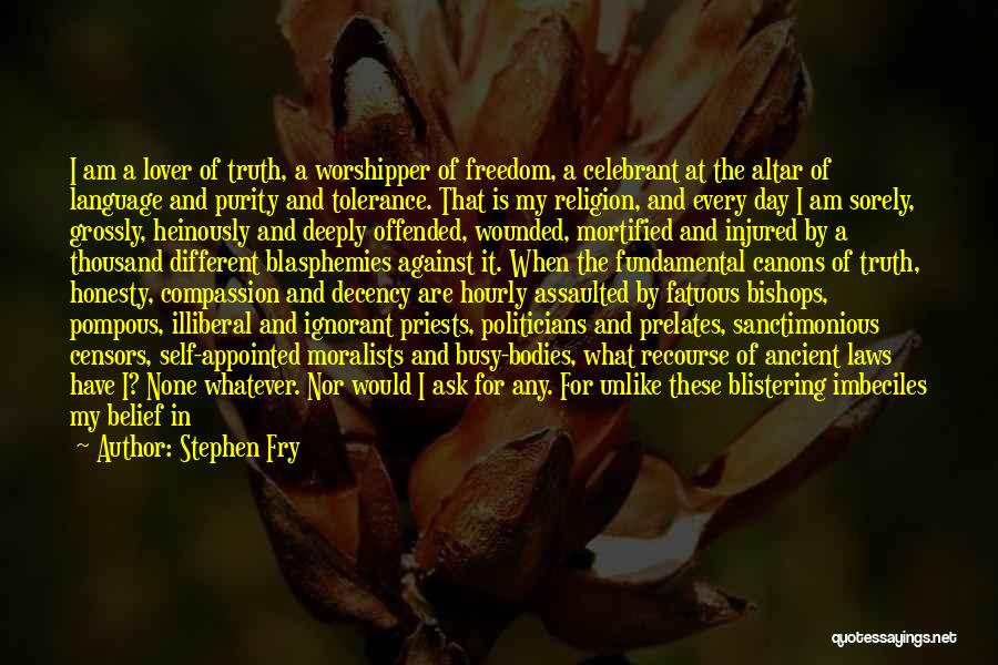 Mortified Quotes By Stephen Fry