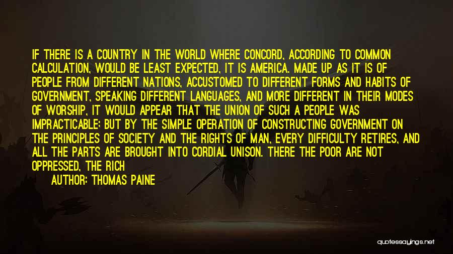 Mortified Quotes By Thomas Paine