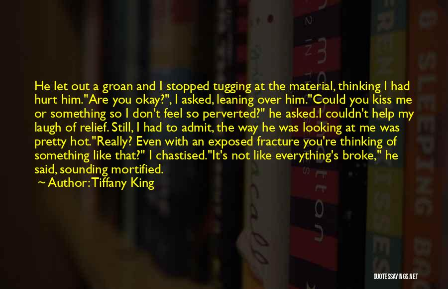 Mortified Quotes By Tiffany King
