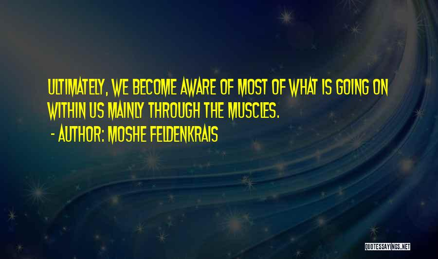 Moshe Feldenkrais Quotes 1047152