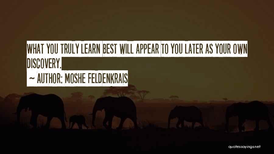 Moshe Feldenkrais Quotes 755549