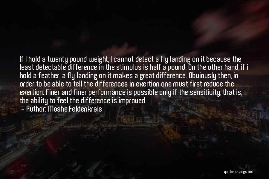 Moshe Feldenkrais Quotes 831007