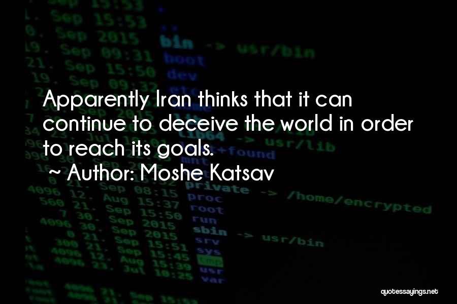 Moshe Katsav Quotes 1996968