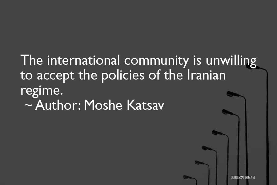 Moshe Katsav Quotes 208394