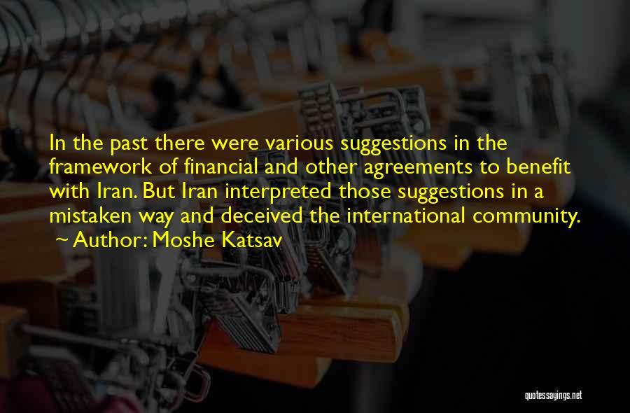 Moshe Katsav Quotes 2112245