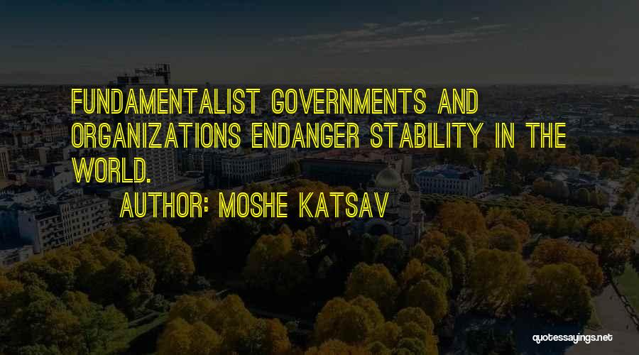 Moshe Katsav Quotes 2165523
