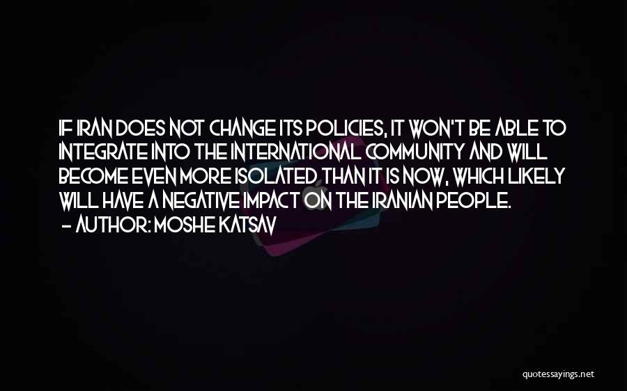 Moshe Katsav Quotes 2256094