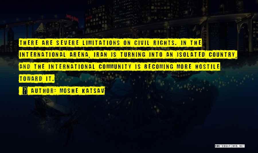 Moshe Katsav Quotes 510177