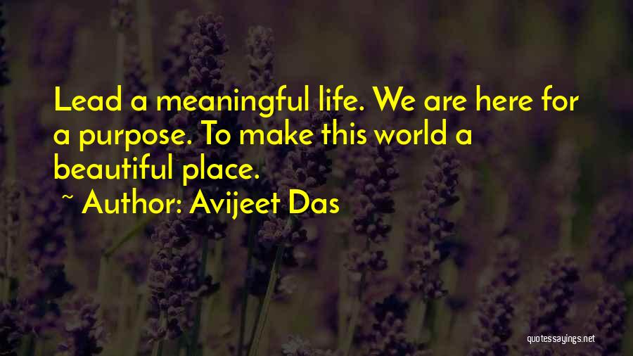 Most Beautiful And Meaningful Quotes By Avijeet Das
