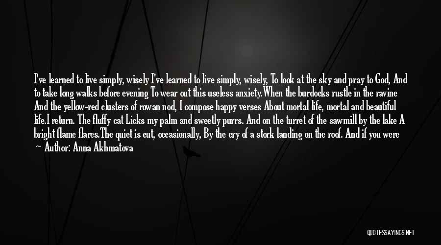 Most Beautiful English Quotes By Anna Akhmatova