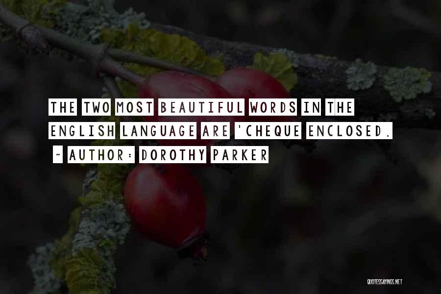Most Beautiful English Quotes By Dorothy Parker
