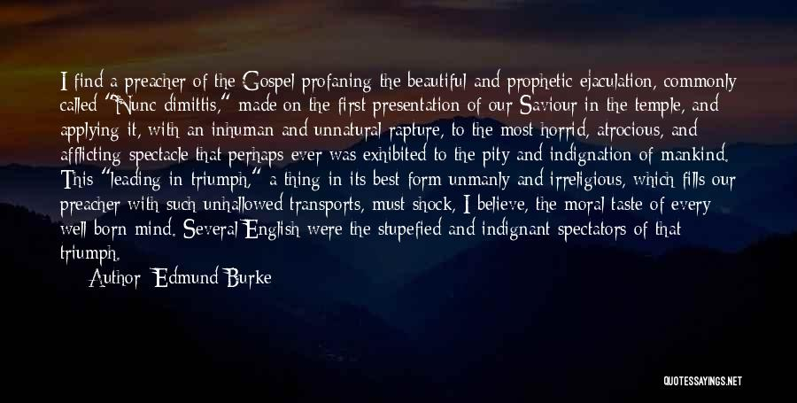 Most Beautiful English Quotes By Edmund Burke