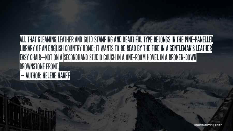 Most Beautiful English Quotes By Helene Hanff