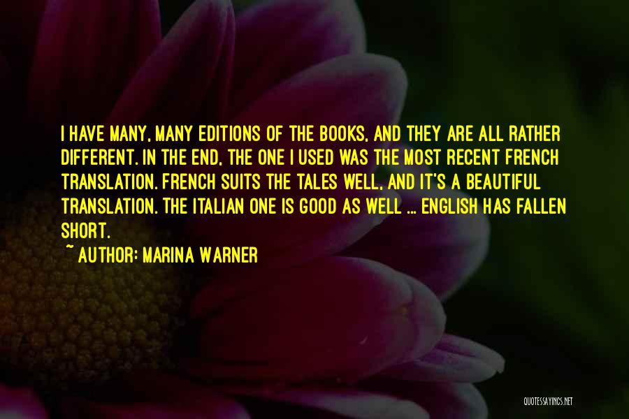 Most Beautiful English Quotes By Marina Warner