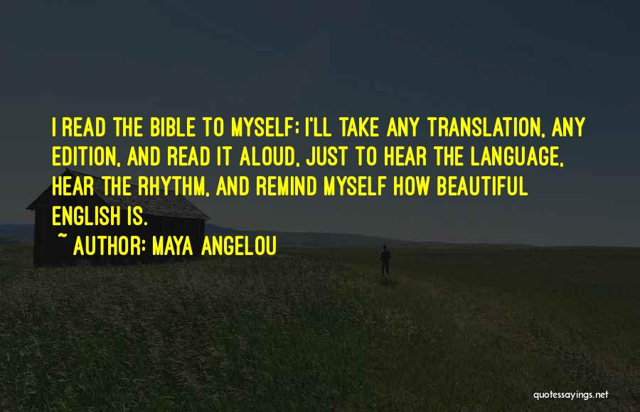 Most Beautiful English Quotes By Maya Angelou