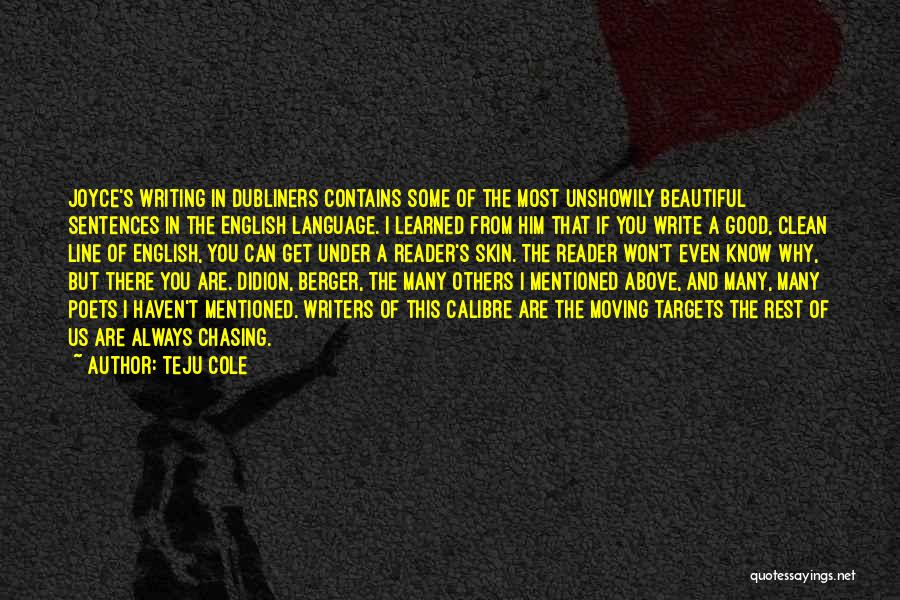Most Beautiful English Quotes By Teju Cole