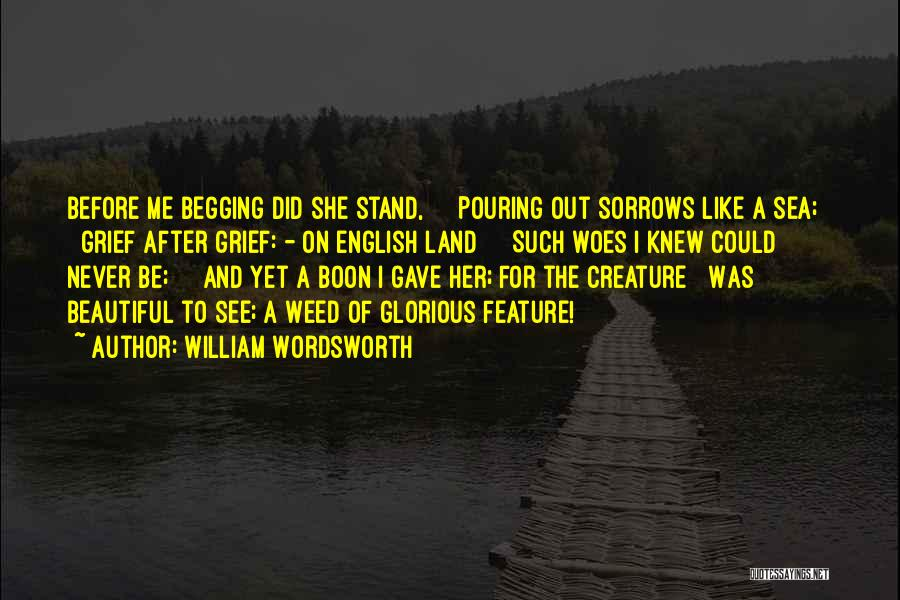 Most Beautiful English Quotes By William Wordsworth