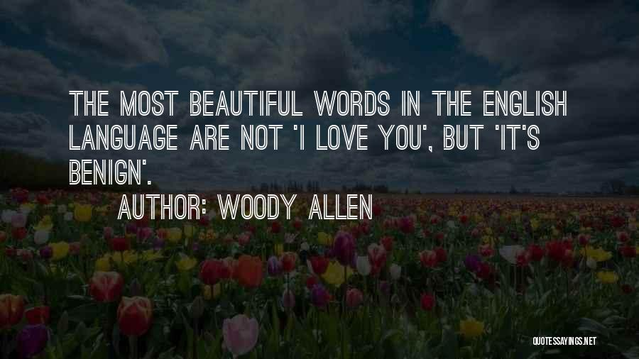 Most Beautiful English Quotes By Woody Allen