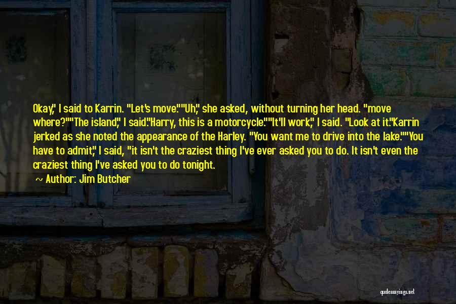 Most Craziest Quotes By Jim Butcher