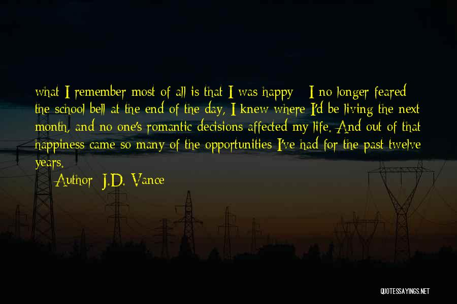 Most Feared Quotes By J.D. Vance