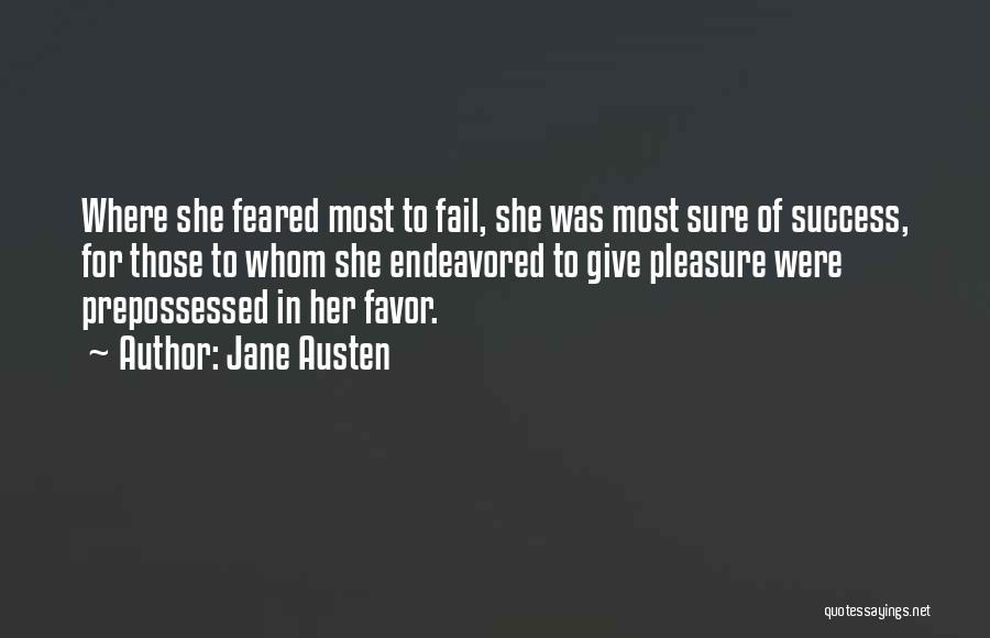Most Feared Quotes By Jane Austen