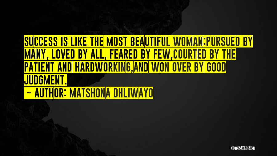 Most Feared Quotes By Matshona Dhliwayo