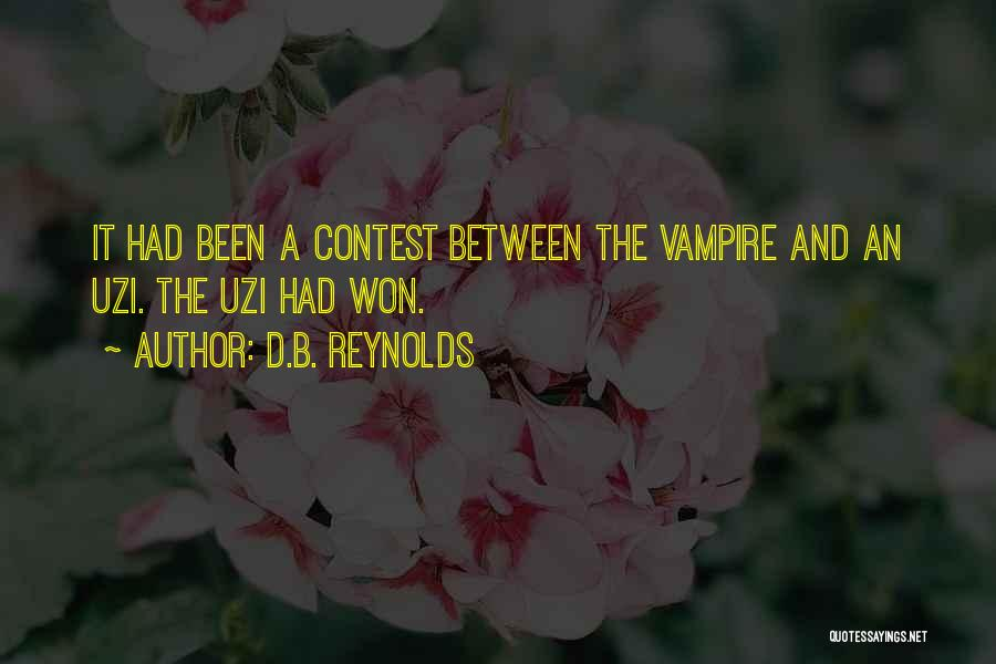 Most Kickass Quotes By D.B. Reynolds