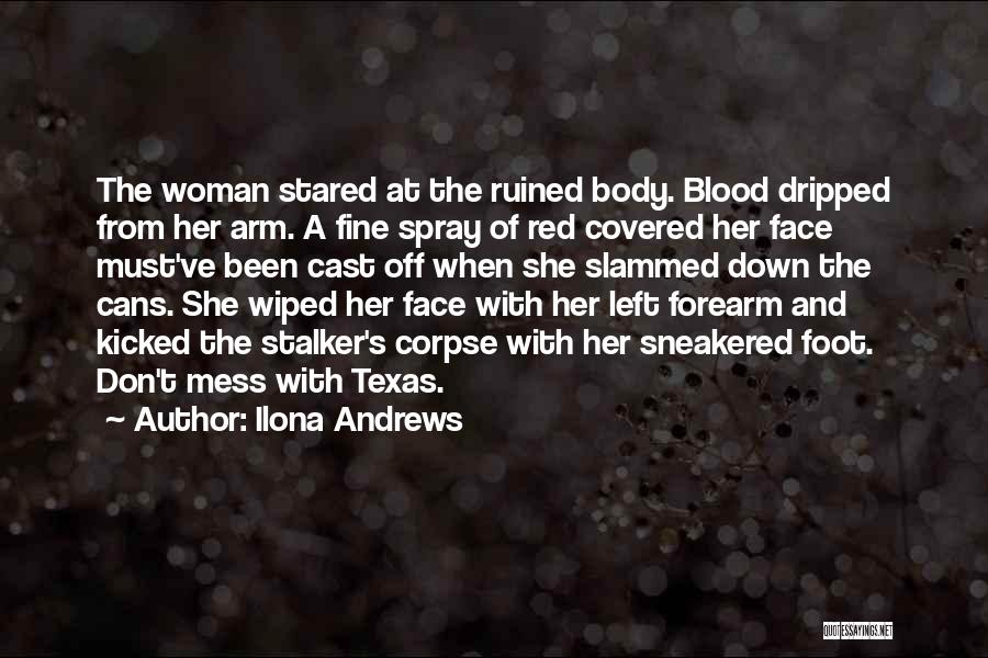 Most Kickass Quotes By Ilona Andrews