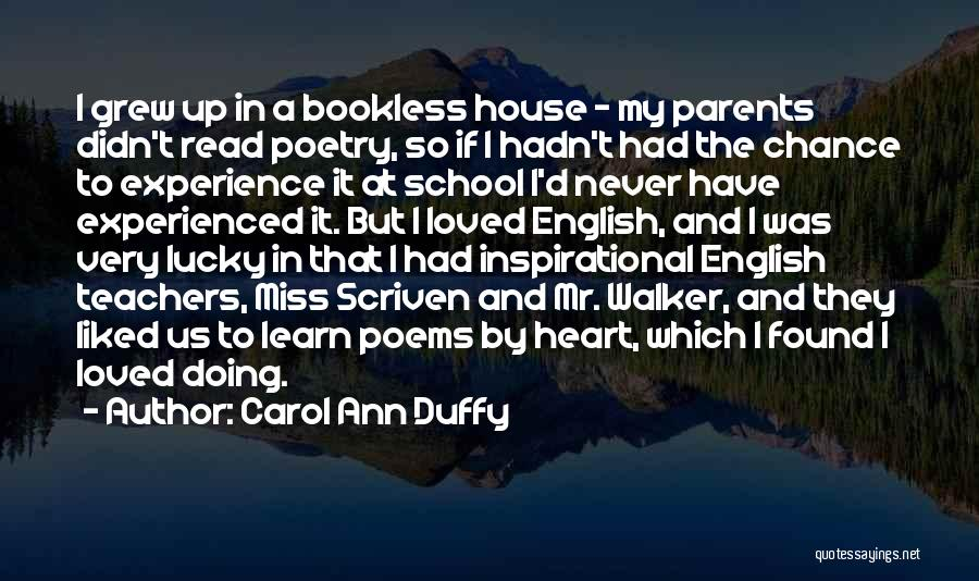 Most Liked Inspirational Quotes By Carol Ann Duffy