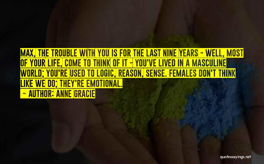 Most Masculine Quotes By Anne Gracie