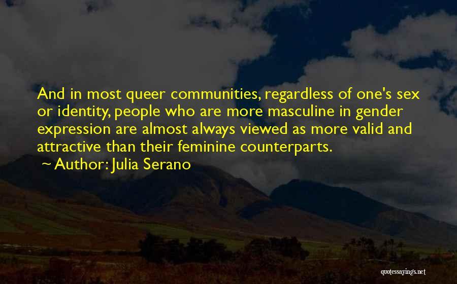 Most Masculine Quotes By Julia Serano
