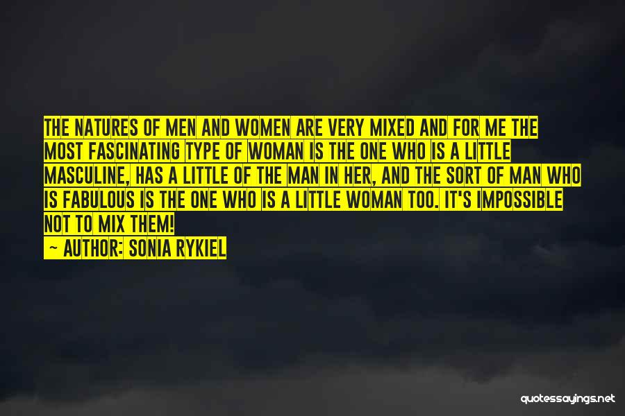 Most Masculine Quotes By Sonia Rykiel