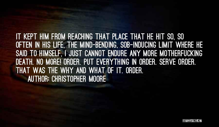Most Mind Bending Quotes By Christopher Moore