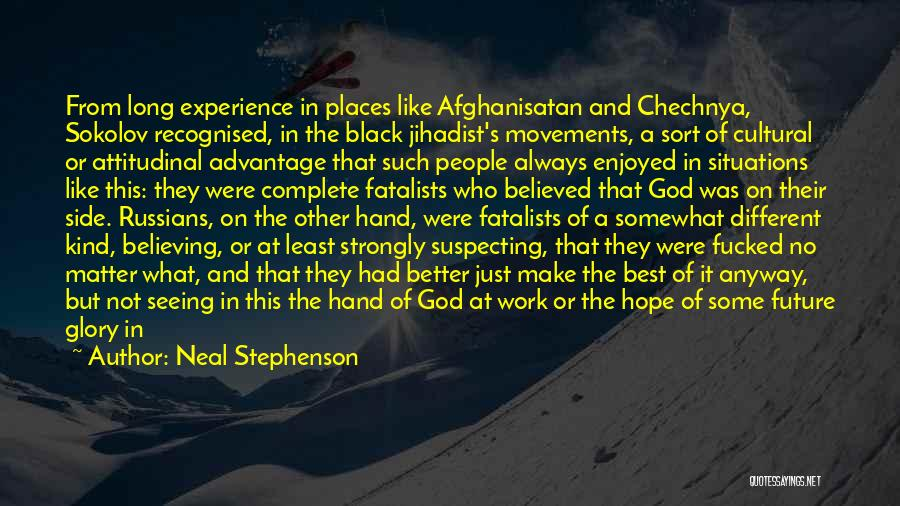 Most Recognised Quotes By Neal Stephenson