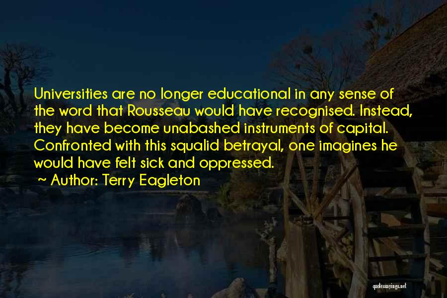 Most Recognised Quotes By Terry Eagleton