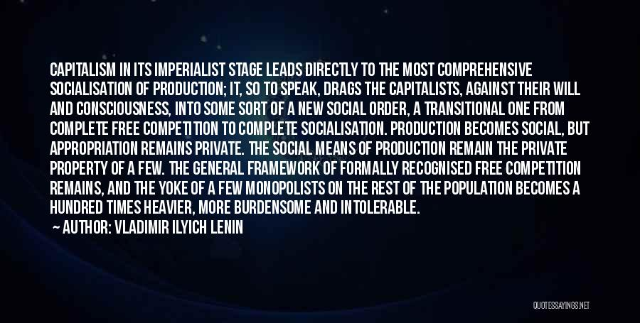 Most Recognised Quotes By Vladimir Ilyich Lenin