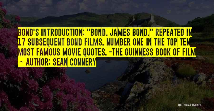Most Repeated Movie Quotes By Sean Connery