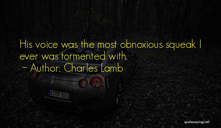 Most Sarcastic Quotes By Charles Lamb