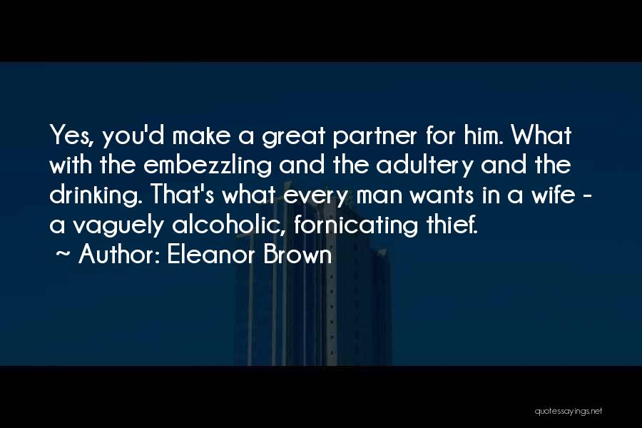 Most Sarcastic Quotes By Eleanor Brown