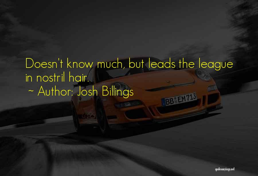 Most Sarcastic Quotes By Josh Billings