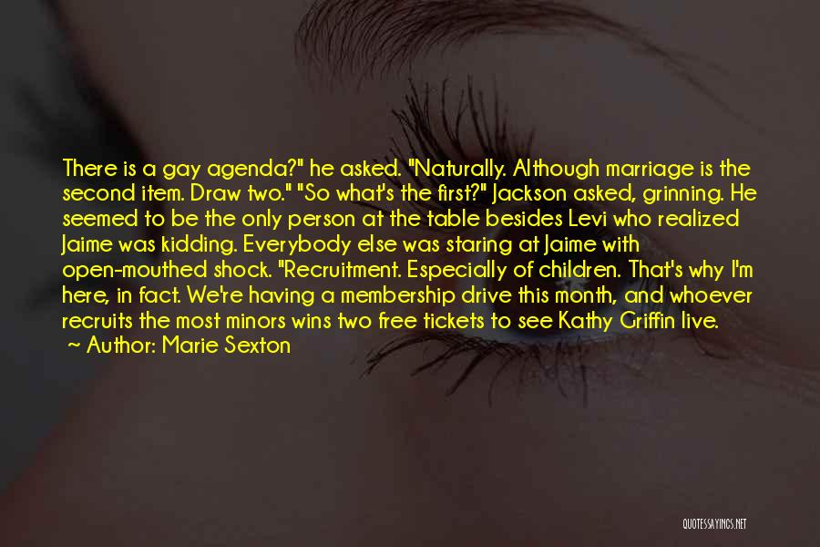 Most Sarcastic Quotes By Marie Sexton