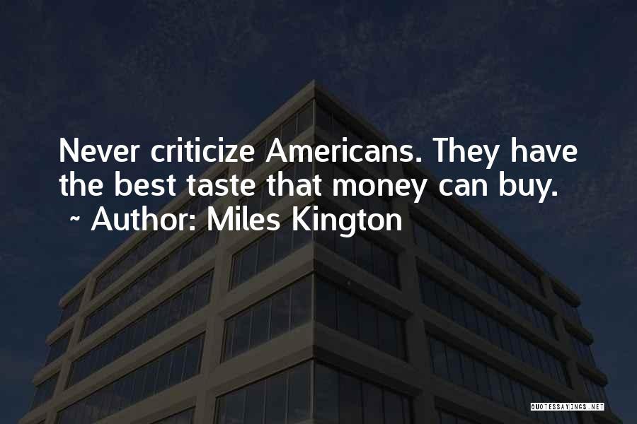 Most Sarcastic Quotes By Miles Kington