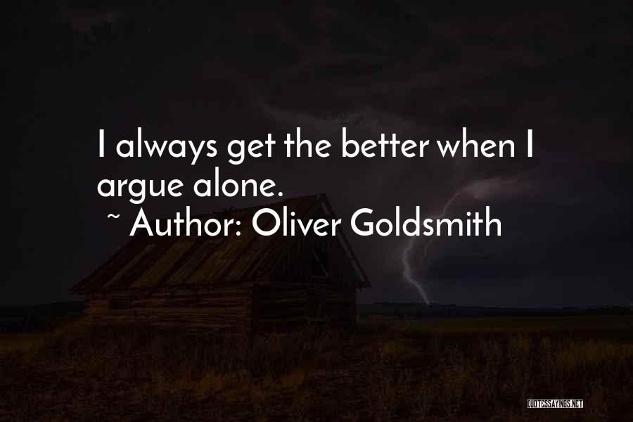 Most Sarcastic Quotes By Oliver Goldsmith