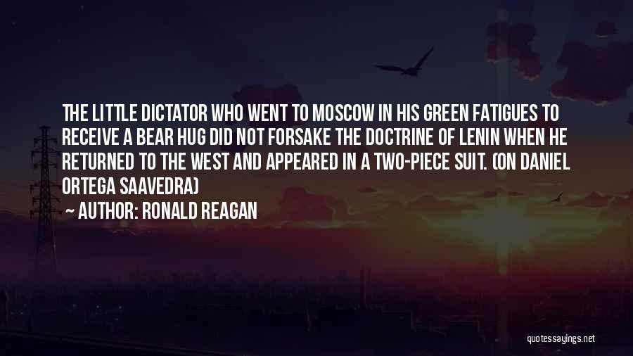 Most Sarcastic Quotes By Ronald Reagan