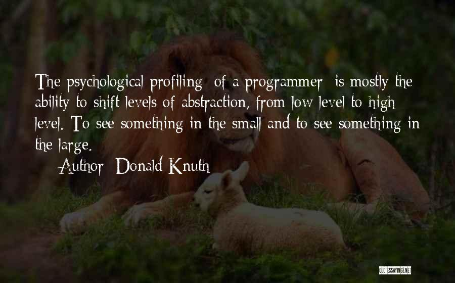 Mostly Quotes By Donald Knuth