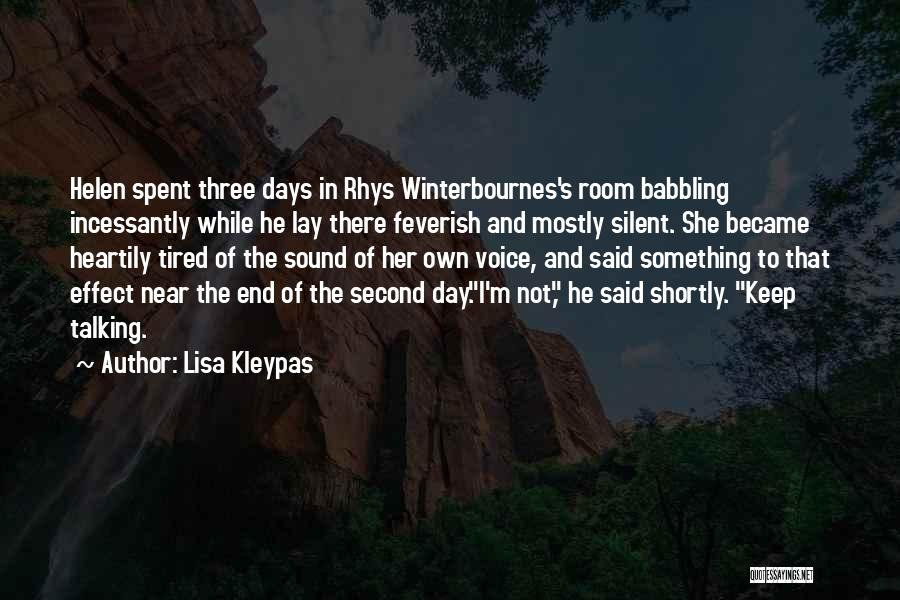Mostly Quotes By Lisa Kleypas
